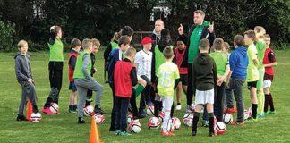 Helping hand footballer Mickey Weir