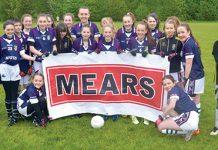 Scottish u14 girls Gaelic