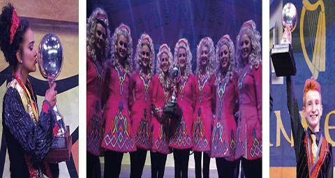 Irish Dancers winners