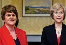 Arlene Foster Theresa May