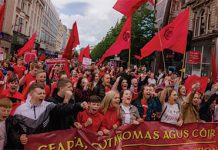 Irish language march