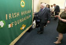 President meets with Irish Community Groups at Govanhill