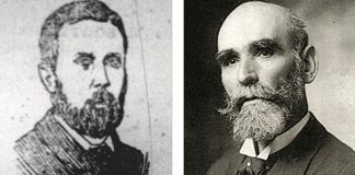 Pat Welsh and Michael Davitt
