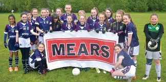Scottish u14 girls Gaelic