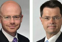 MP Martin Doherty-Hughes and Secretary of State for Northern Ireland James Brokenshire MP