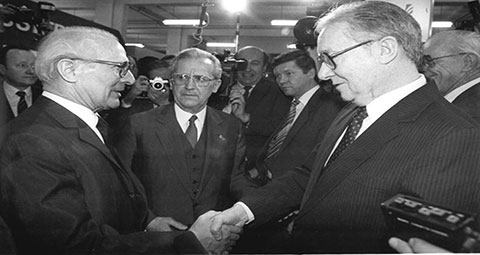Frank Meehan and Erik Honecker